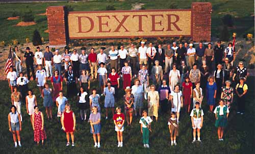 The people of Dexter greet you!